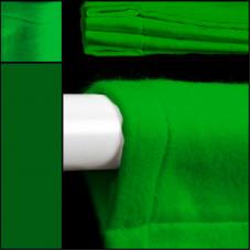 theaterdoek / backdrop / groen / met ophanglussen