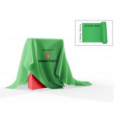 Dekomolton 60m  ,  op rol, groen, B 1 , 300 cm breed