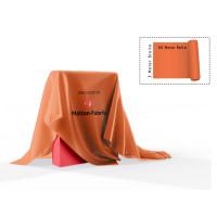 Dekomolton 60m  ,  op rol, oranje, B 1 , 300 cm breed